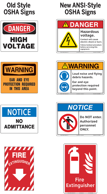 Osha U2019s New Safety Sign Ruling And Its Impact On Workplace