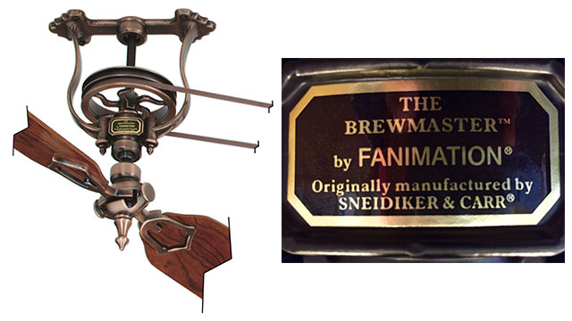 Shaft Driven Ceiling Fan : Brewmaster ceiling fans recalled in compliance magazine