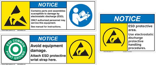 Understanding Symbols: Static Electricity Hazards   In ...