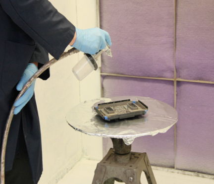 The Art of Spraying Electrically Conductive Paints   In