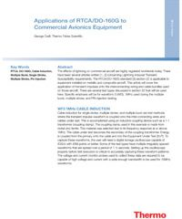 Thermo Applications of RTCA