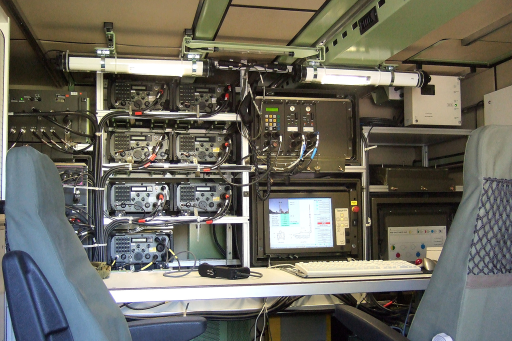 Radio Access Point Tank