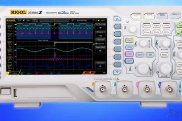 Rigol DS1054Z Oscilloscope | In Compliance Magazine
