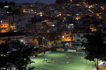Kinetic Tiles Power Soccer Field Lights | In Compliance Magazine