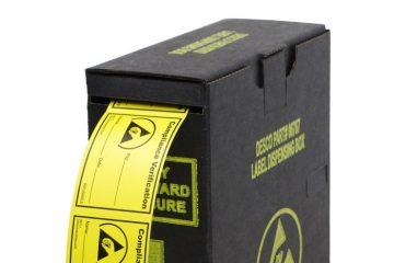 New Dissipative Label Dispenser | In Compliance Magazine