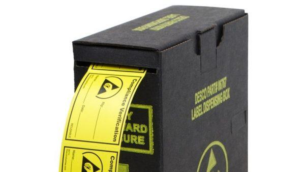 New Dissipative Label Dispenser   In Compliance Magazine