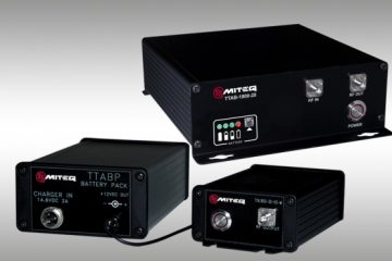 MITEQ Introduces Desktop Amplifiers with Rechargeable Battery Option | In Compliance Magazine