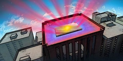 High-Tech Mirror Reflects Heat and Sunlight From Buildings | In Compliance Magazine