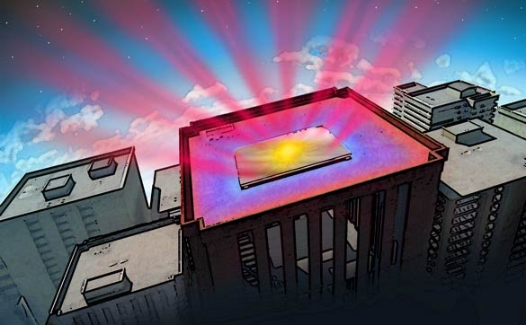 High-Tech Mirror Reflects Heat and Sunlight From Buildings   In Compliance Magazine