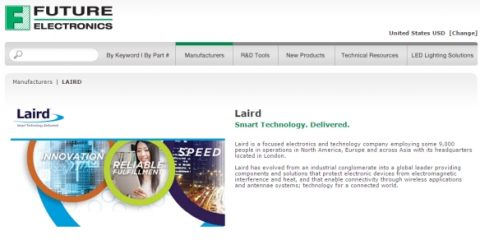 Laird's New Distribution Partnership with Future Electronics | In Compliance Magazine
