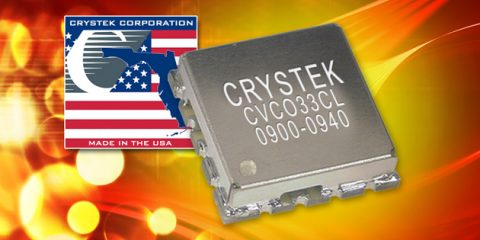 New 900-940 MHz VCO from Crystek Corporation