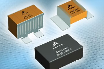 New Capacitors from Provide Compact Solution for Converters