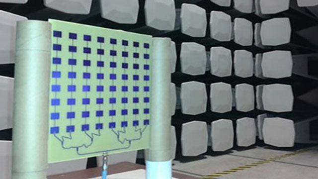 Student Wins Award for Patch Antenna Array Design Project