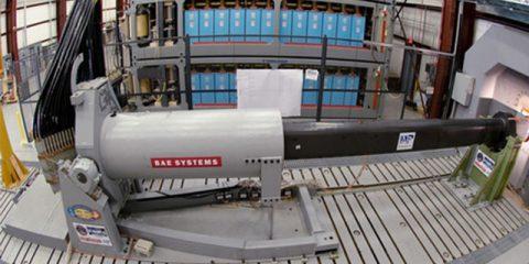 BAE railgun
