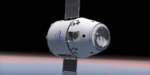 NASA image: Dragon