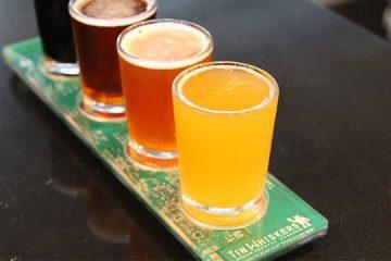 circuit board beer flight