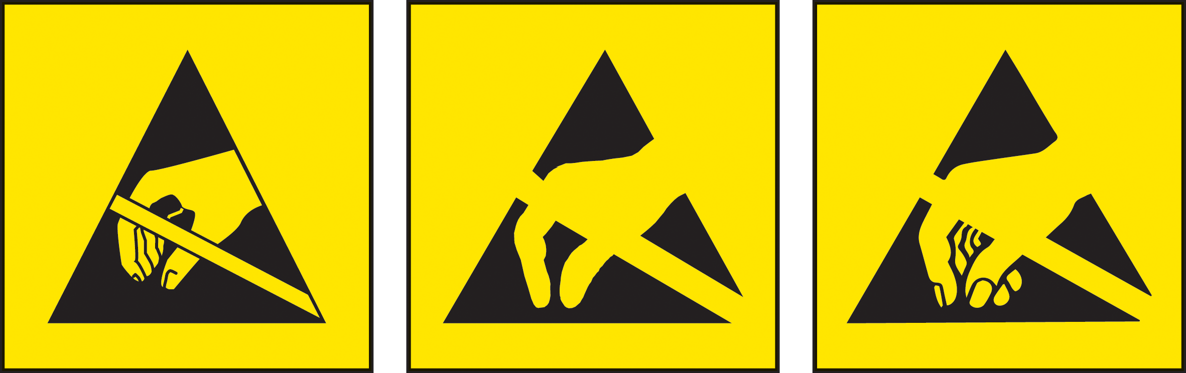 Electricity Icon Yellow