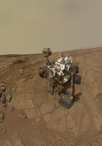 curiosity rover photo