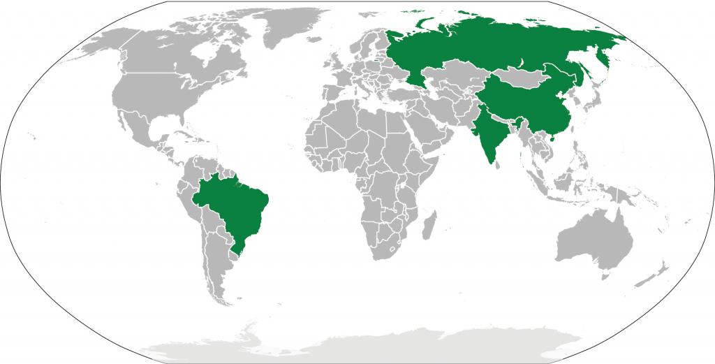 Figure 1: BRIC Countries (image by Felipe Menegaz)