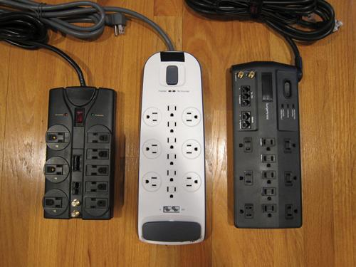 Figure 3: Combination surge protectors