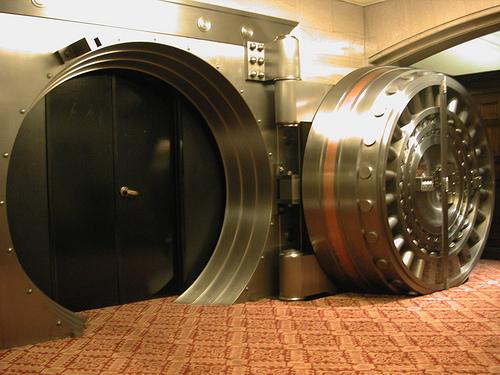 bank vault photo