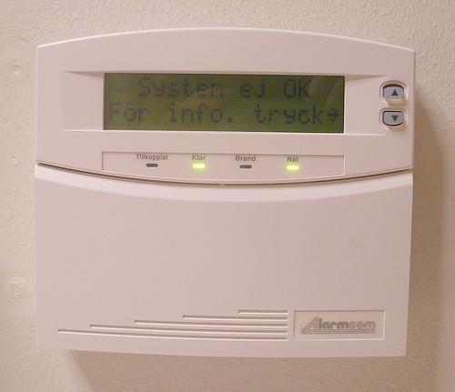 burglar alarm photo