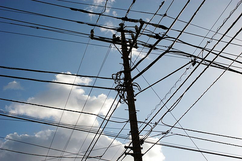 electric cables photo