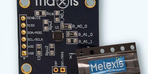 Melexis evaluation board
