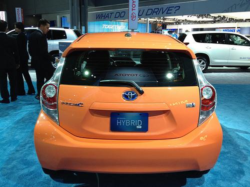 hybrid vehicle photo