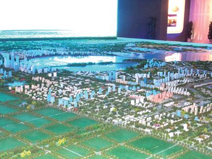 Tongzhou Bay Model