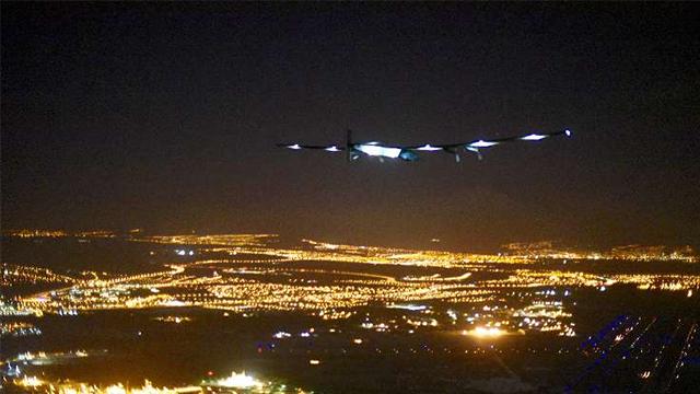 Overheating Battery Grounds Solar Impulse 2 In
