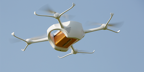 Swiss post drones