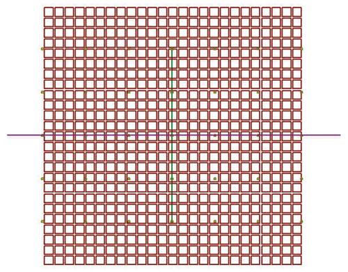 Figure 1: Air Vent Geometry