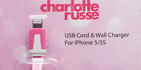 recalled iPhone charger