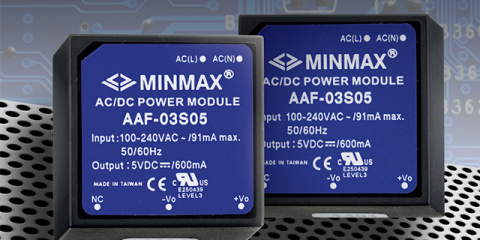 3 Watt PCB Mount AC/DC Power Supply