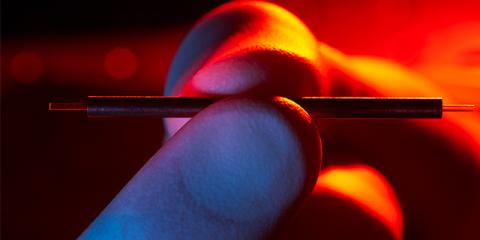 miniature particle accelerator