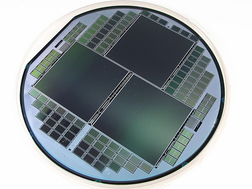 semiconductor wafer photo