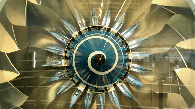 Laser-Powered Jet Engine