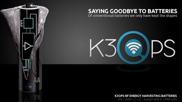 RF Energy Harvesting Battery