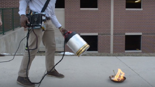 RF Fire Extinguisher