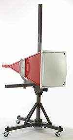 Figure19: A ridged horn lens antenna
