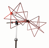 Figure9: Typical biconical antenna