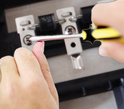 Figure 4: HMM event between a screwdriver and a screw that is part of an electrical installation in the junction box.