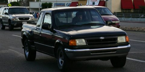 2005 Ford Ranger Recall
