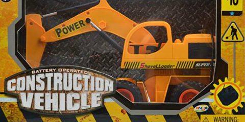 Toy Excavator Recall