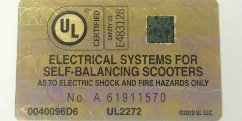 UL Certified Hoverboard