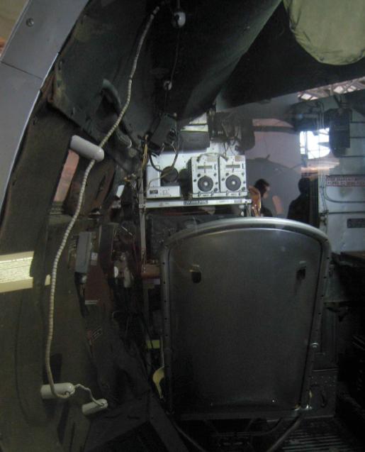 Figure 4: B-26 radio room