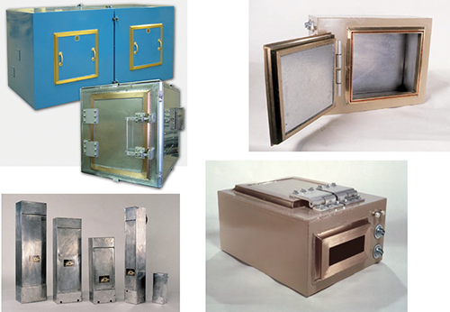 Figure 2: Some examples of rugged, high-specification electromagnetic mitigation