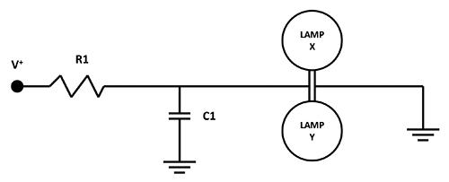Figure1: Simple Lamp Circuit