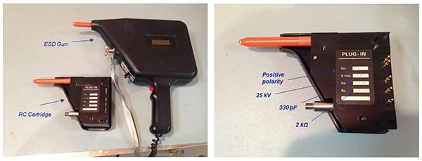 Figure4: An ESD gun and a cartridge